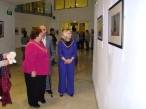 Lord mayer in Kurdish Exhibition